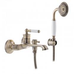 смеситель для ванны MIXXUS PREMIUM VINTAGE BRONZE 009 EURO
