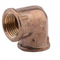 Латунный угольник 25 вв 1в-1в усиленный резьба внутреняя-внутреняя