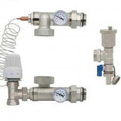 Насосно-смесительный узел для гребенки теплого пола KOER KR.1022L2 - 1