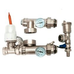 Насосно-смесительный узел для гребенки теплого пола KOER KR.1022L1 - 1