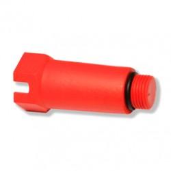 Пробка заглушка длинная сантехническая пластиковая 1/2 н Ekoplastik
