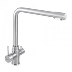 Кухонный смеситель с краном для питьевой воды HAIBA SUS-021