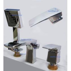 врезной смеситель для ванны MIXXUS PREMIUM PATRICK 022