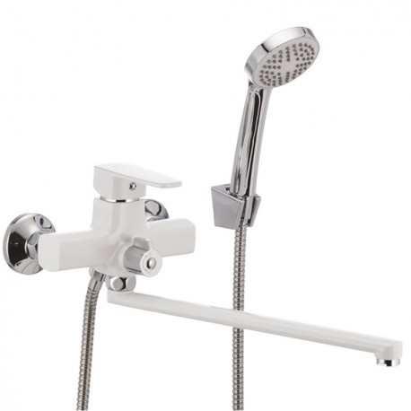 Mixxus Missouri 006 Euro White белый смеситель для ванны с душем