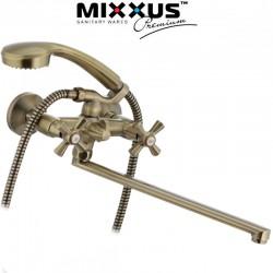 Смеситель для ванны MIXXUS PREMIUM RETRO BRONZE 140