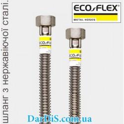 Шланг для газа из нержавеющейстали ГАЗ/Стандарт ECO-FLEX 1/2 90см ГГ