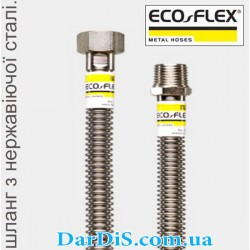 Гибкий шланг для газа из нержавеющейстали ECO-FLEX 3/4 60см Г.Ш.
