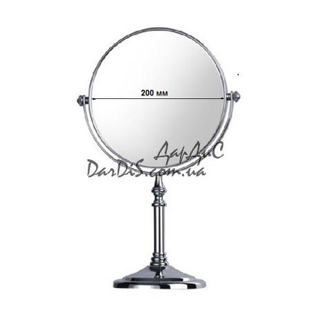 Косметическое зеркало настольное с увеличением Zerix LR6108