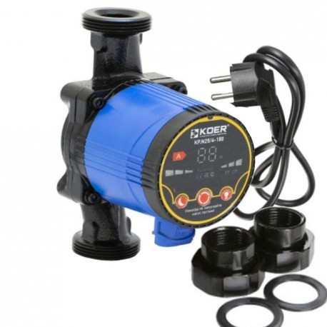 Насос циркуляционный энергосберегающий KOER KP.N25/6-180 для отопления