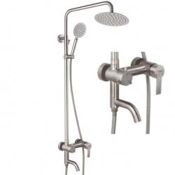 Смеситель для ванны c тропическим душем Champion NOX-009-J