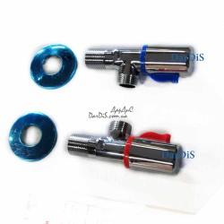 Комплект кранов (2 шт.) для подключения смесителя KOER KR.509-2