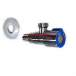 Кран для подключения смесителя ZERIX LR70507C (цвет: синий)