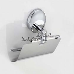 Держатель туалетной бумаги с крышкой ZERIX LR3303