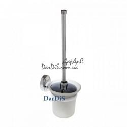 Ёрш для туалета настенный с крышкой ZERIX LR3310