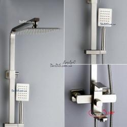 Душевая колонна смеситель для ванны c тропическим душем ZERIX 72433