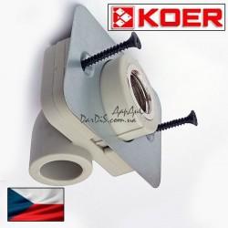Угольник с креплением Koer ппр угол установочный для гипсокартонных стен ВР 20*1/2F