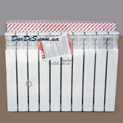 Биметаллический радиатор BITHERM 80 Bimetal-500 10-секций (ПОЛЬША)