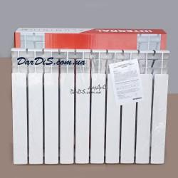 Алюминиевый радиатор INTEGRAL 100 ALUMINIUM-500 10-секций
