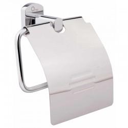 Держатель для туалетной бумаги с крышкой Q-tap Liberty CRM 1151