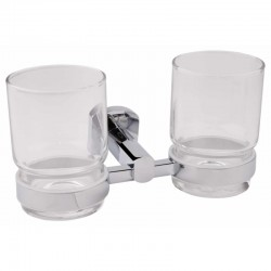 Q-tap Liberty CRM 1155 двойной стакан настенный